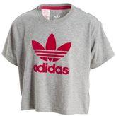 adidas Girls' Crop T-Shirt Junior