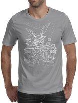 TopLAD Down The Rabbit Hole (white) Mens T-Shirt /