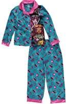 "Monster High Big Girls' ""Ghouls of MH"" 2-Piece Pajamas -/multi, 7 - 8"