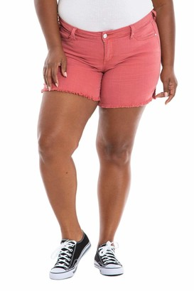 SLINK Jeans Side Vent Shorts in Cayenne Size 12