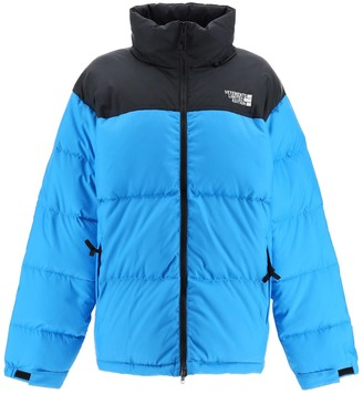 Vetements Puffed Down Jacket Blue/black