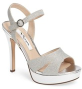 Nina Women's Shara Shimmery Platform Sandal