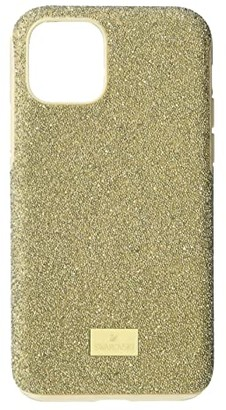 Swarovski High Smartphone Case with Bumper, iPhone(r) 11 Pro (Gold) Cell Phone Case