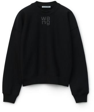 Alexander Wang Foundation Terry Crewneck Sweatshirt