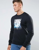 Element Print Crew Neck Sweat
