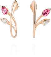 Thumbnail for your product : Fernando Jorge Sepals Hoop Earrings