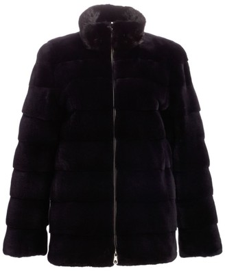 The Fur Salon Bibhu Mohapatra For Plucked Mink Fur Jacket