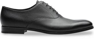 Prada Saffiano leather Oxford shoes