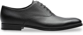 Prada Saffiano leather Oxford shoes