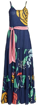 Carolina K. Julia Floral Maxi Dress