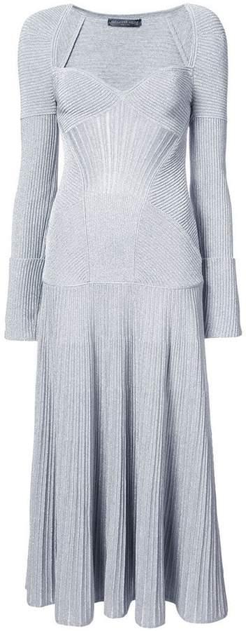 Alexander McQueen long knit dress