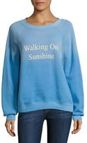 Wildfox Couture April Walking On Sunshine Pullover