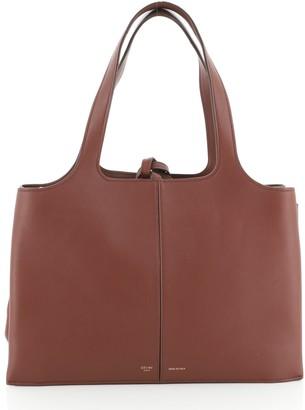 Celine Tri-Fold Shoulder Bag Smooth Calfskin Medium