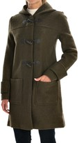 Jones New York Hooded Boiled Wool Coat (For Women)