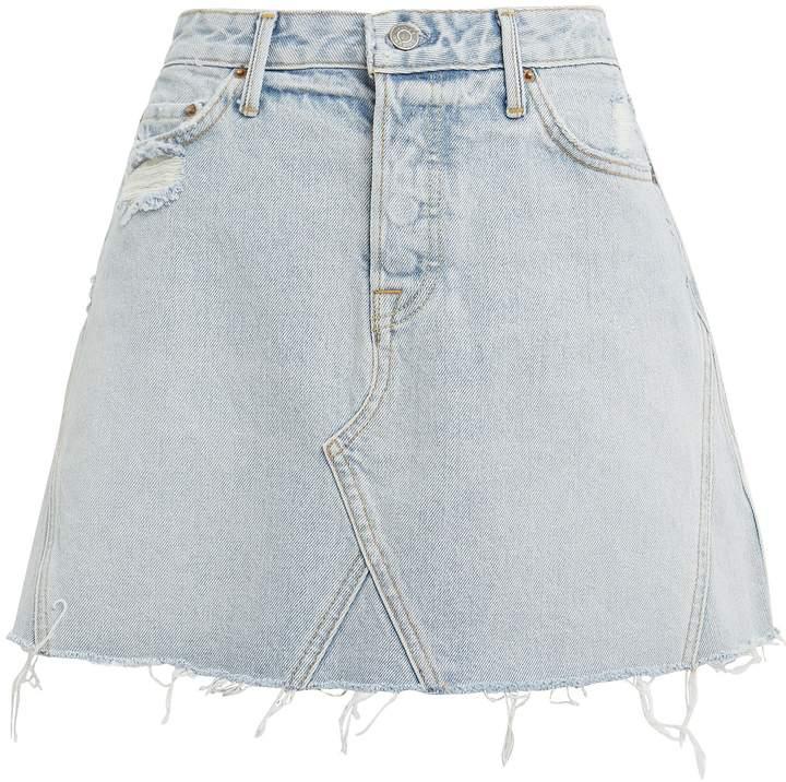 b25cbb2bb1 GRLFRND Blue Skirts - ShopStyle