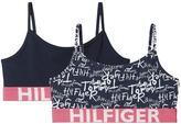 Tommy Hilfiger Girls Printed String Bralette (2 Pack)
