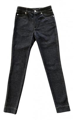 Louis Vuitton Anthracite Cotton - elasthane Jeans