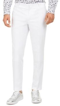 INC International Concepts Inc Men's Slim-Fit Linen Jasper Pants, Created for Macy's