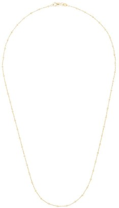 Loquet 14K yellow gold Sphere chain necklace