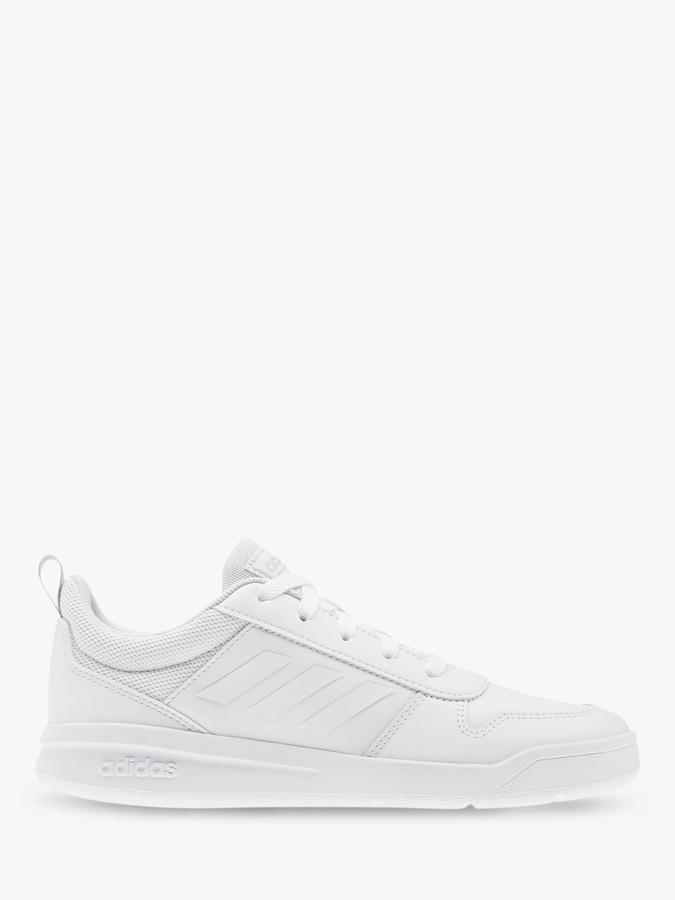 adidas Children's Tensaur Trainers, FTWR White/Grey Two