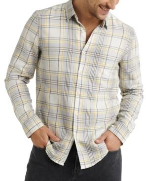 Lucky Brand Men's Jaybird Regular-Fit Plaid Work Shirt