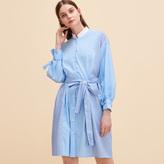Maje Striped shirt dress