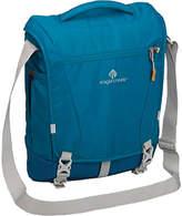 Eagle Creek Catch-All Courier Pack RFID Messenger - Celestial Blue Zipper