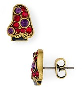 Marc Jacobs Pavé Strass Mushroom Single Stud Earring