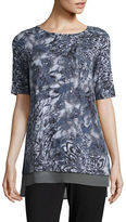 Context Floral Printed Top