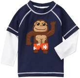 Gymboree Monkey Rashguard