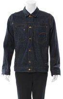 G Star South East Embroidered Denim Jacket