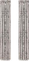 """J Queen New York Alessandra Pair of 100"""" x 84"""" Window Panels"""