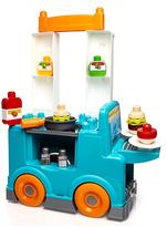 Mega Bloks First Builders Food Truck Kitchen 32-Piece Set