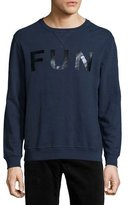 Sol Angeles Fun Pullover Sweatshirt, Navy