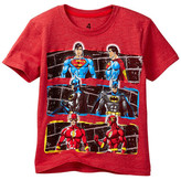 Dx-Xtreme Justice League Ban Wall Short Sleeve Tee (Little Boys)