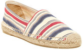 Patricia Green Striped Slip-On Flat