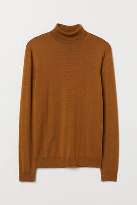 H&M Merino wool polo-neck jumper