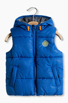 Esprit Padded body warmer with a hood