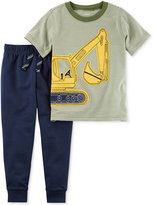 Carter's 2-Pc. Cotton Shirt and Pants Set, Toddler and Little Boys (2T-4T)