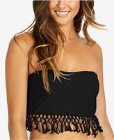 Raisins Strapless Fringe Bikini Top Women's Swimsuit