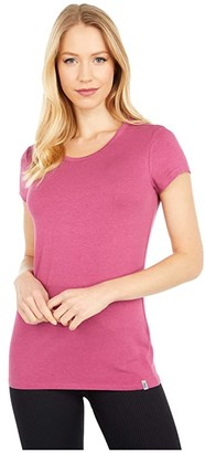 tasc Performance Nola II Crew Neck Tee (Vineyard) Women's Clothing