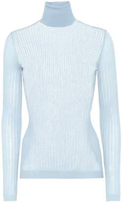 Bottega Veneta Cotton-blend turtleneck sweater