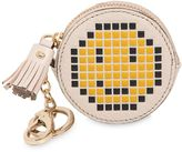 Anya Hindmarch Pixel Smiley Leather Coin Purse