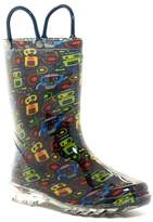 Western Chief Bot Party Light-Up Waterproof Rain Boot (Toddler & Little Kid)