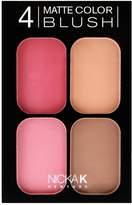 (3 Pack) NICKA K 4 Matte Color Blush Set CBM03