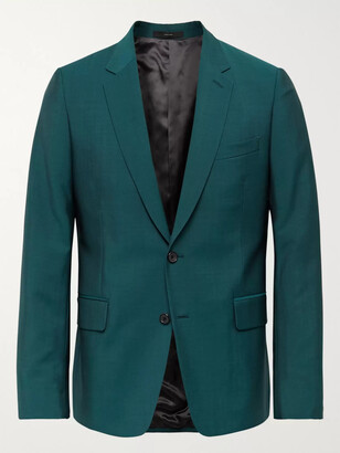 Paul Smith Soho Slim-Fit Wool and Mohair-Blend Suit Jacket - Men - Green