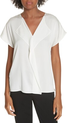 BOSS Intessa Stretch Silk Blouse