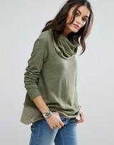 Free People Cocoon Multi Way Neck Top