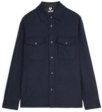 Arket Wool Blend Overshirt