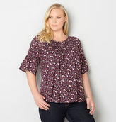 Avenue Ditsy Floral Bell Sleeve Top